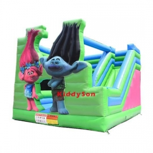 China Kids inflatable playhouse slide for sale on sale