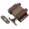 China 939987, Hardware, Locks And Latches, Touch Latches, Double Mag T-Latch Brown for sale