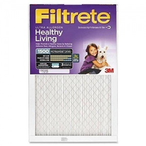 Quality 16x20x1 (15.6 X 19.6) Filtrete 1500 Ultra Allergen Filter By 3m for sale