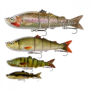China LURES / BAITS Solft-jointed 16cm-5 Segment Multisection Lure (MS1516) on sale