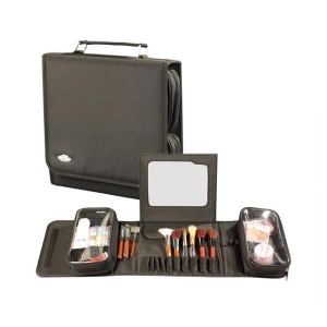 China fold up professional make up brush case with mirror(BB5041) on sale
