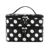 China polka dots double layers makeup bag case with Mirror (CB5197) for sale