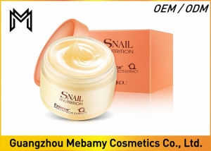 China Snail Repair Skin Care Face Cream , Nutritious Night Daily Face Cream For Dry Skin on sale
