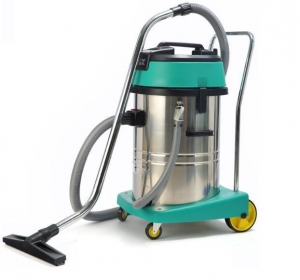 China 60L 2/3 Motor Industrial Wet And Dry Vacuum Cleaner (Stainless Steel) on sale