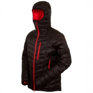 China Jacket & Coat Mens Black Zip Up Padded Jackets on sale