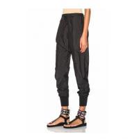Jogger Pants Shiny Black Relaxed Baggy Jogger Pants