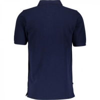 Navy 100% Cotton Polo Shirt Men