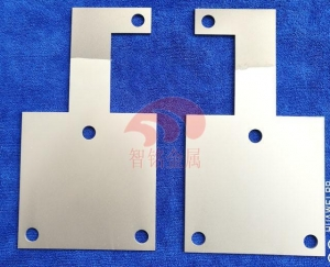 China Platinum-plated titanium electrode plate on sale