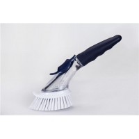 China Long Handle Bristle Soap Dispensing Brush on sale