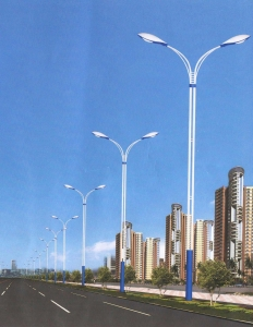 China Ruixiang Road Lamp Best-selling double-pole lamp Number: SBD-003 on sale