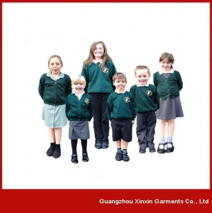 China Casual long sleeve school uniform manufacturers in china (U03) on sale