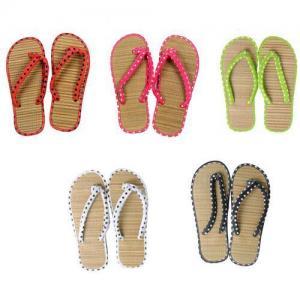China Personalized Printed Beach Sandal Man Flip Flop Woman EVA Slipper Shoes on sale