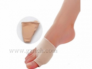 China HB-HF-36 Deluxe Gel Bunion Sleeve with Pressure Relief Hole on sale