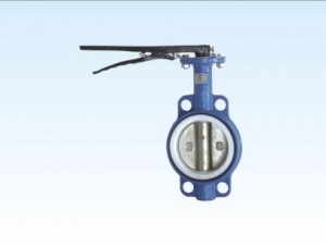 China D71F4-10/16Handle teflon butterfly valve to the clamp on sale