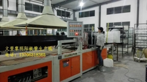 China FRP winding equipment Name:New type of glass steel anode tube automatic production line on sale