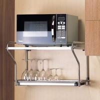 Corner Basket units Microwave oven dish rack A0560