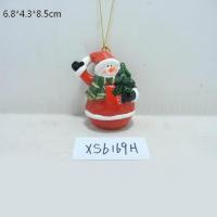 China ceramic christmas snowman box on sale