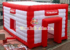 China Nylon Inflatable Wedding Tent With Logo Rip Stop Fabric Flame Retardant on sale