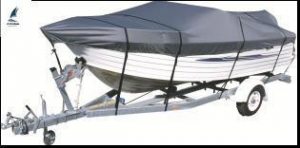 China Standard Waterproof Boat Cover for Center Console T Top Boat 14 Foot - 22 Foot on sale