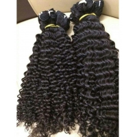 China Vietnamese hair Deep curly weft on sale