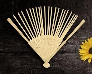 China Bamboo Hand Fan Frame (Set of 10) on sale