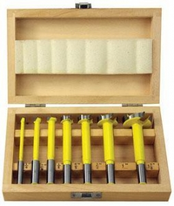 China WOODTEK 7 PIECE CARBIDE TIPPED FORSTNER BIT SET on sale