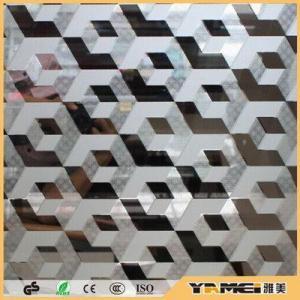 China Acid etched glass No fingerprints acid glass/Titanium mirror glass/acid etched glass supplier on sale