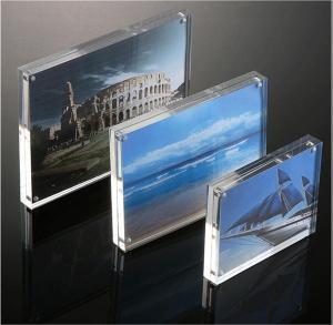 China Acrylic Gift & Craft Magnetic Acrylic Photo Frame on sale