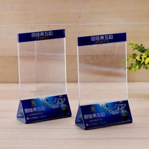 China Acrylic Hotel Supplies Acrylic table tents on sale