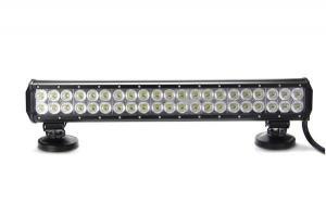 China 20inch 126w CREE LED light bar Car roof lighting garden equipment construction on sale