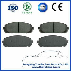 China Jeep Cherokee Low Noise Semi Metallic High Temperature Resistance Wear Resistant Brake Pad on sale