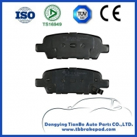 NISSAN brake shoes Nissan Leaf Low Noise Semi Metallic Painted Plastic Front Brake Pad