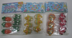 China NO.H015 Easter Decorated Lollipops 17g*6pcs*12bags*6strips on sale