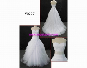 China V0227 tulle ball gown GuangZhou new design on sale