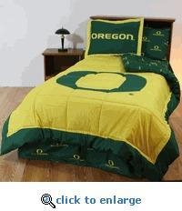China Oregon Ducks Twin Bed-in-a-Bag on sale