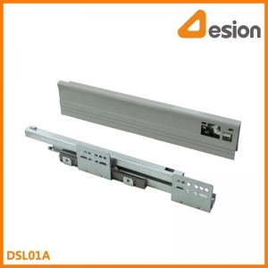 China double wall drawer slides DSL01A Under mounting concealed slides on sale