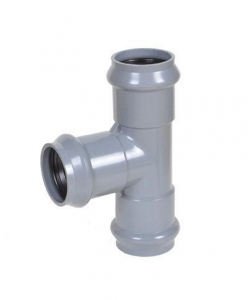 China pvc Faucet Tee with rubber ring FFF on sale
