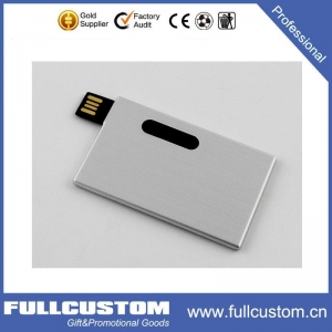 China USB Aluminium Card USB on sale