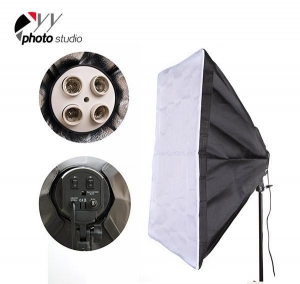 China Photo Studio Softbox Only for 4 Head Continuous Lighting Socket, YB203 on sale