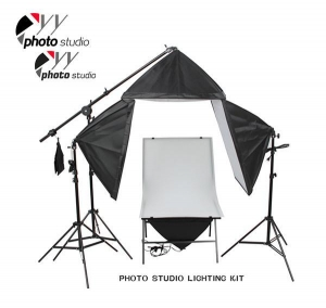 China Photo Studio Softbox Continuous Lighting Kit with Shooting Table, KIT 048 on sale