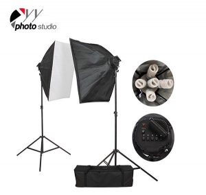 China Photo Studio Video Softbox Continuous Lighting Kit, KIT 011 on sale