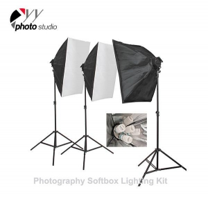 China Photo Studio Video Softbox Continuous Lighting Kit, KIT 010 on sale