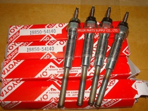 China 19850-54140,Genuine Toyota Glow Plug For 5LE 5L 3L 2L Engine on sale
