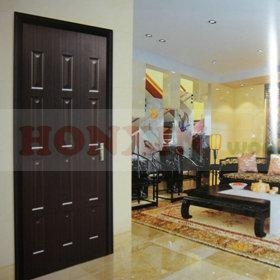 China Melamine HDF door skin on sale