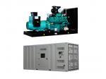 25-2000kva Cummins Silent Type Generator Set