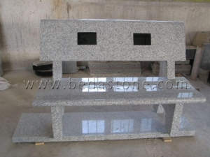China Stone Memorial Benches on sale