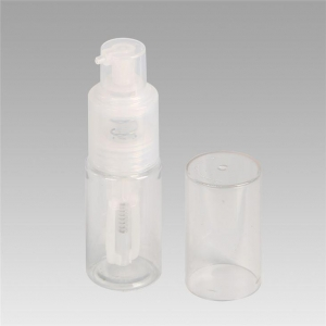 China 35ML Clear Cosmetics Powder Spray Bottle For Nail Glitter on sale