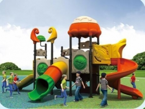 China Exported to Columbia Nontoxic Park Playground Hot Sale in South America HZ-D008 on sale
