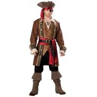 China Adult Captain Skullduggery Pirate Costume on sale