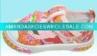 China Two elastic strap with cartoon rubber for baby shoes on sale